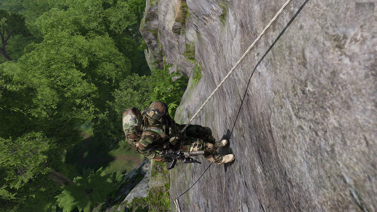ADVANCED URBAN RAPPELLING